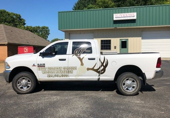 Custom Graphics & Vinyl Decals | Partial Vehicle Wraps | Advertising & Marketing Agency Signs | Montgomery, Al