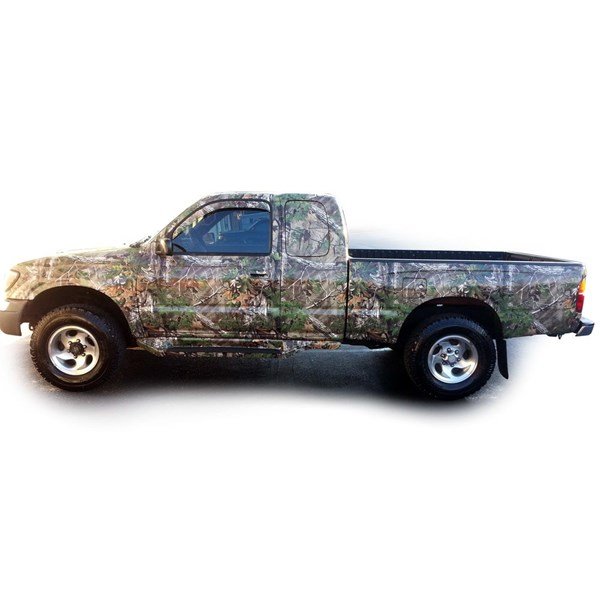 Camo Wrapped Vehicles