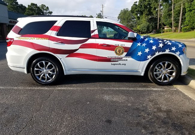 Vehicle Graphics  &  Lettering | Partial Vehicle Wraps | Government and Municipal Signs | Montgomery, Al