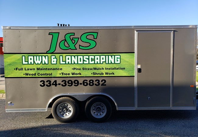 Vehicle Graphics  &  Lettering | Custom Graphics & Vinyl Decals | Advertising & Design | Montgomery, Al
