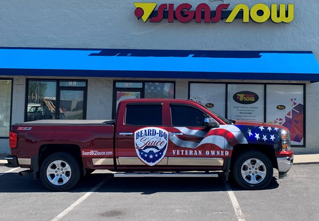 Full Vehicle Wraps | Truck & Trailer Wraps | Restaurants & Foodservice | Rapid City, South Dakota | Veteran Owned