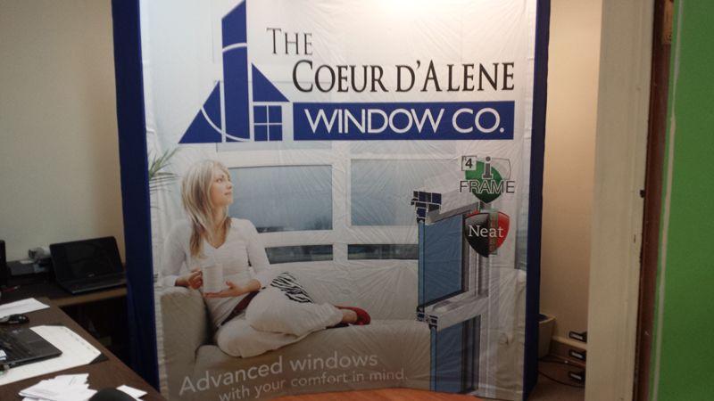 coeur d alene windows doors cda windows trade show display