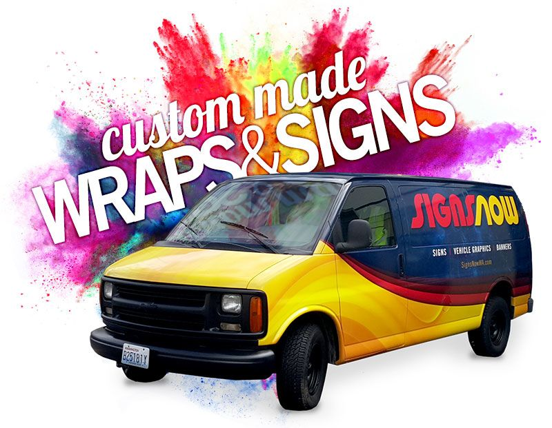 Quality Custom Signs Amp Custom Wraps Seattle Signs Now