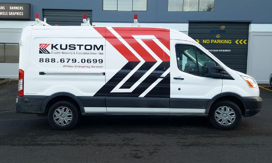 High Quality Custom Vehicle Graphics Signs Now Washington