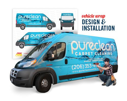 vehicle wrap installation & design
