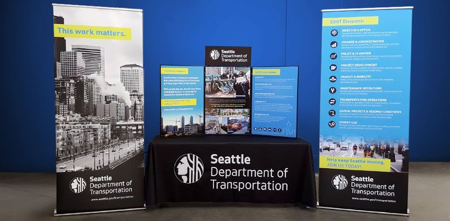 SDOT Recruitment Display