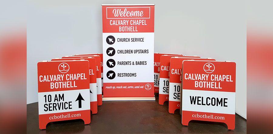 Custom Church Signs Bothell Signs Now Washington