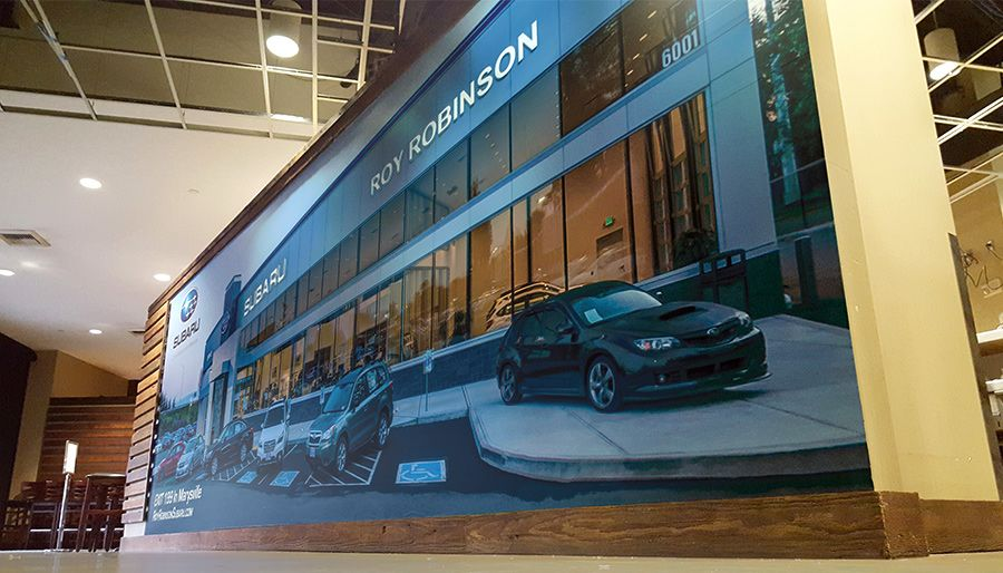 wall wrap graphics