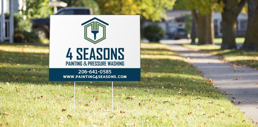 Yard & Lawn Signs Seattle | Signs Now Washington