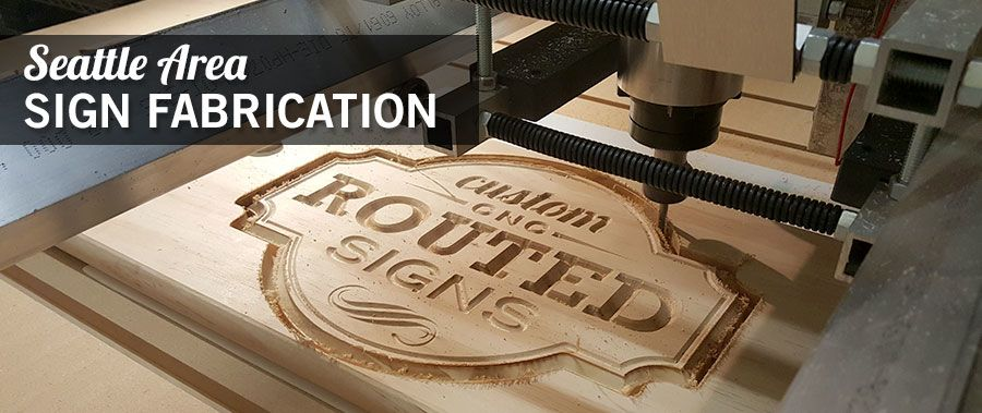 Sign Fabrication and Sign Routing Seattle