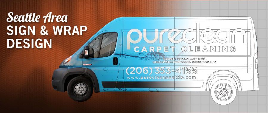 Seattle Area Sign & Wrap Design