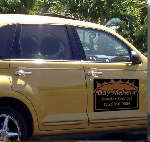 Custom Magnetic Car Signs Car Sign Magnets Car Door Magnetic - Magnetic car decals