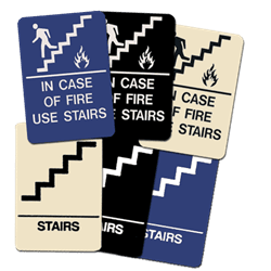 stair signs