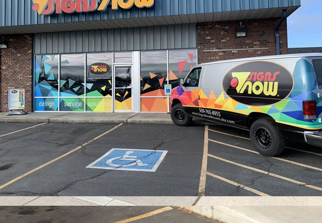 Fleet Vehicle Graphics | Corporate Branding Signs | Advertising & Design | Moses Lake Signs Now