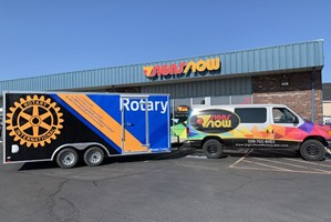 Rotary Club Trailer Wrap
