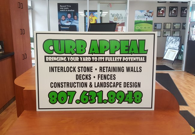 Corrugated Plastic Signs & Yard Signs | Contractor & Construction Signs | Thunder Bay, ON