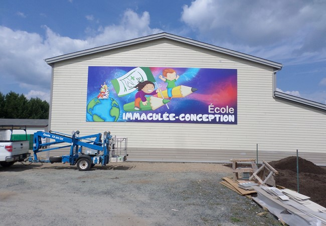 Wall Graphics and Murals | Aluminum Composite Signs | Education, School & University Signs | Thunder Bay, ON