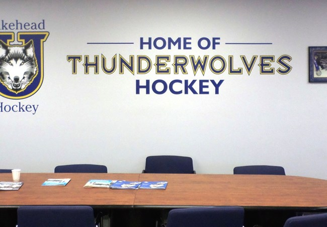 Wall Graphics and Murals | Vinyl Lettering | Gym, Sports and Fitness Signs | Thunder Bay, ON