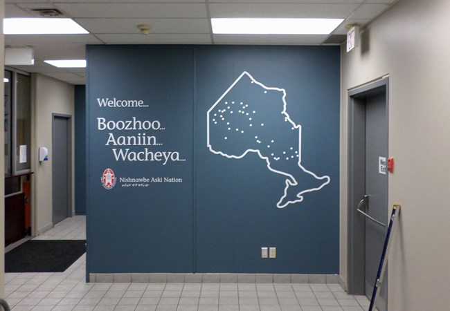 Wall Graphics and Murals | Vinyl Lettering | Government and Municipal Signs | Thunder Bay, ON