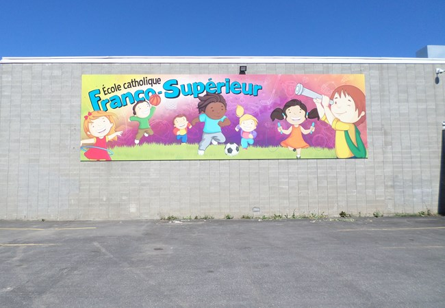 Wall Graphics and Murals | Aluminum Composite Signs | Education, School & University Signs