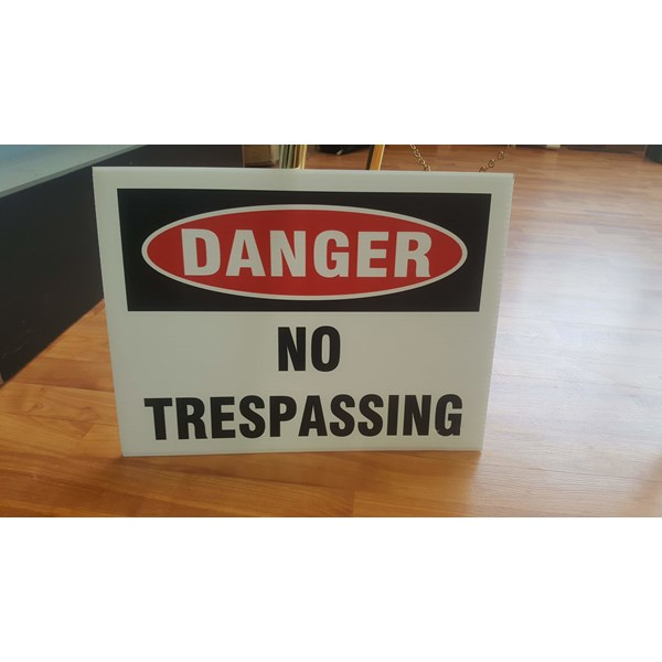 Access Control Signs