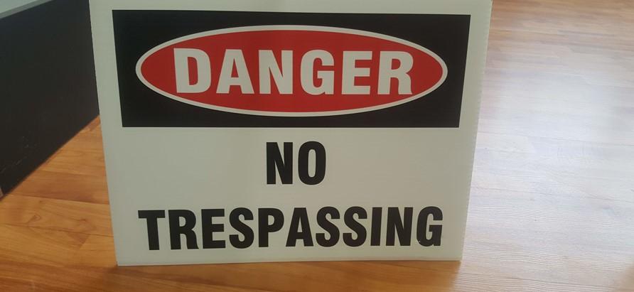 Hazard, Warning, & Safety Signage