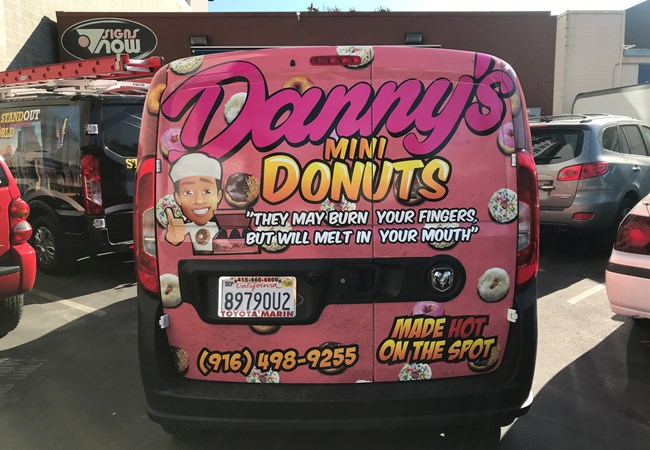 Full Vehicle Wraps | Custom Vehicle Graphics and Lettering | Restaurants, Diners, Bars & Food Truck Signs | Sacramento