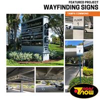 Tampa Commons Wayfinding Signs