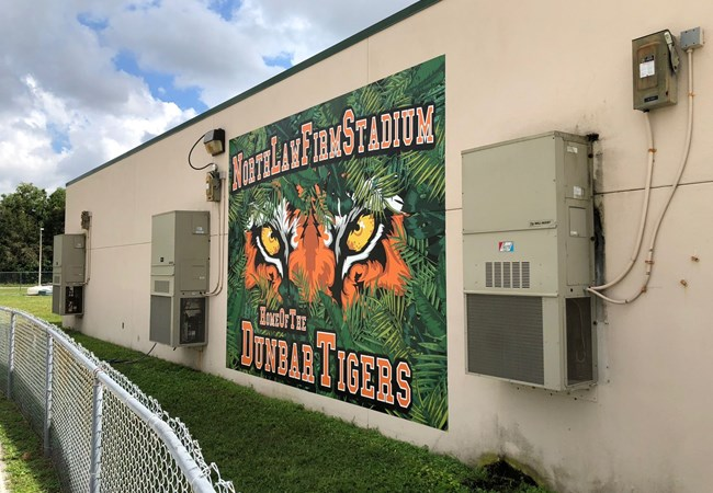 Wall Graphics for North Law Firm Stadium in Fort Myers FL