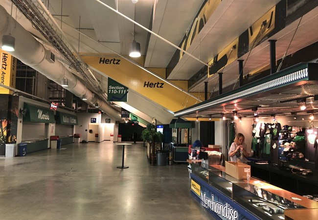 Graphics for Hertz Arena in Fort Myers, FL