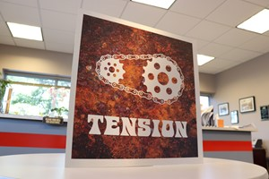 Stainless Steel Sign for Tension