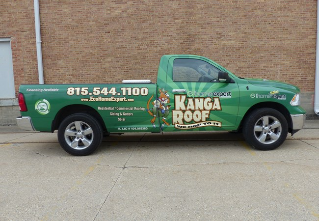Fleet Vehicle Graphics | Truck & Trailer Wraps | Professional Services Signs | Rockford, IL