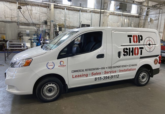 Fleet Vehicle Graphics | Vinyl Lettering | Professional Services Signs | Rockford, IL