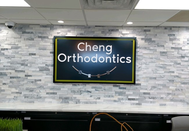 Reception Area Signs | Corporate Branding Signs | Dentist, Orthodontist and Oral Surgeon Signs | Rockford, IL