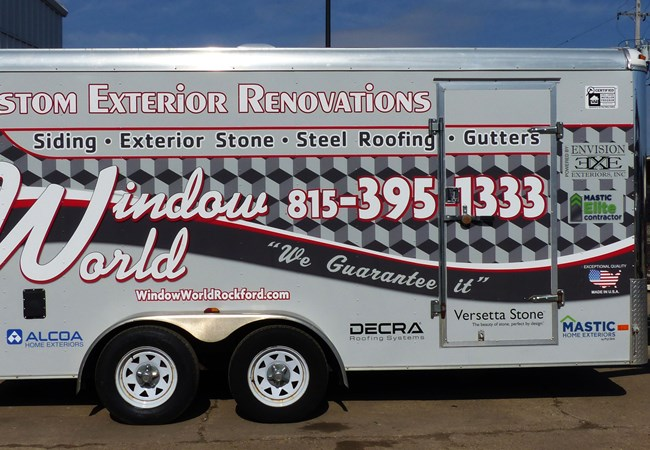 Truck & Trailer Wraps | Fleet Vehicle Graphics | Retail Signs | Rockford, IL