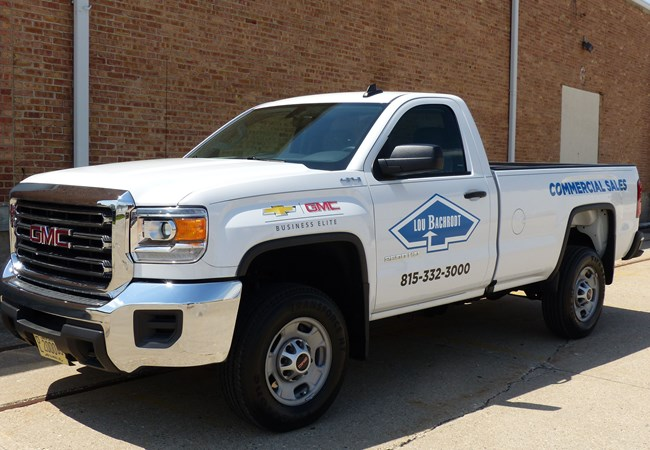 Vinyl Lettering | Custom Vehicle Graphics and Lettering | Auto Dealerships & Repair Signs | Rockford, IL