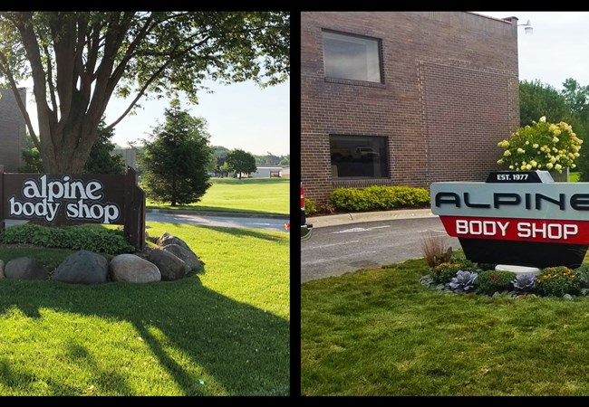 Monument Signs - Rockford | Freestanding Signs and Cutouts | Auto Dealerships & Repair Signs | Rockford, IL