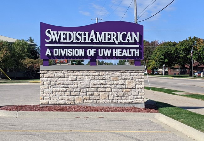 Monument Signs - Rockford | Custom Monument Signs | Healthcare | Rockford, IL