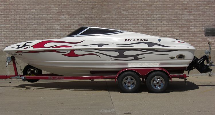 Custom Boat Graphics  Decals - Custom boat decals and graphics