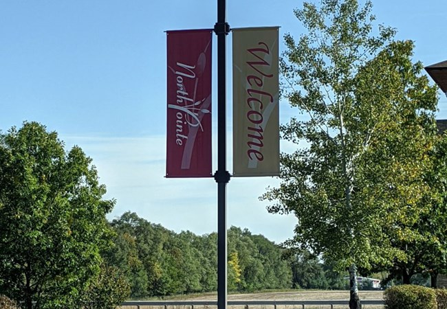 Pole Banners | Outdoor Banners | Healthcare | Rockford, IL
