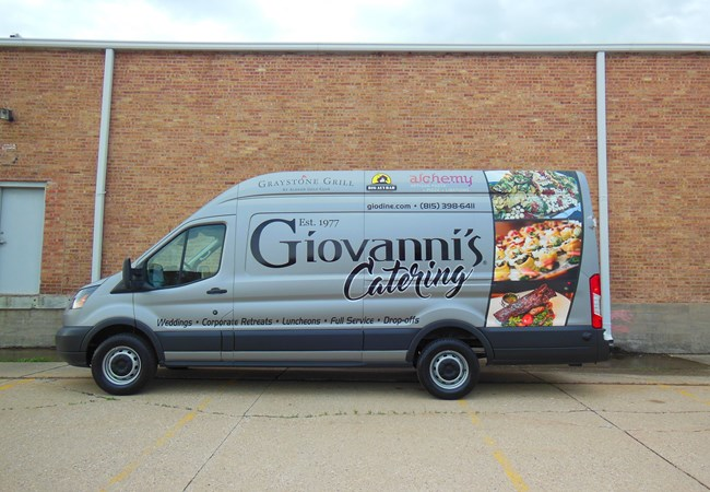 Full Vehicle Wraps | Custom Graphics & Vinyl Decals | Restaurant & Food Service Signs | Rockford, IL