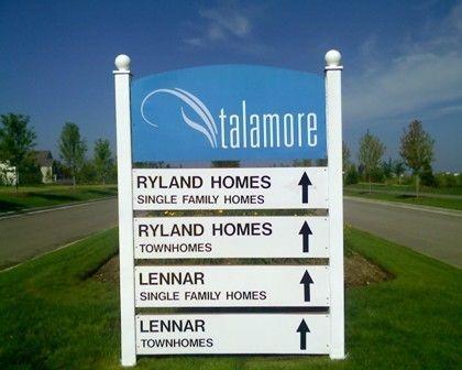 Home Builder Signage
