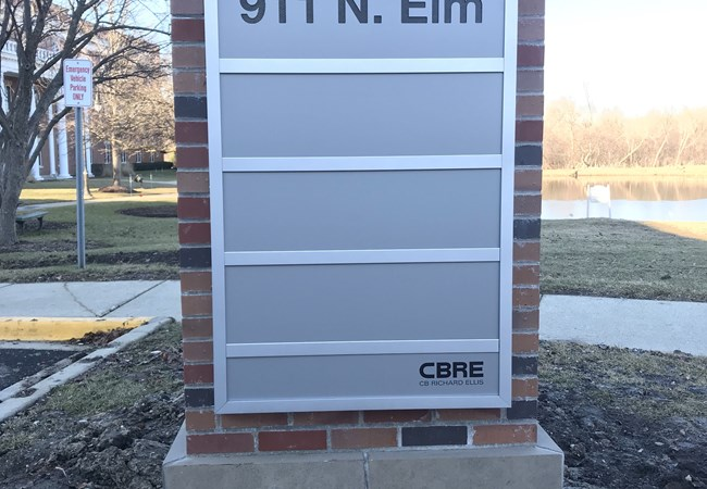 Monument Signs | LED & Electric Signs for Business | Property Management, Apartment, & Condo Signs | Hinsdale, Il