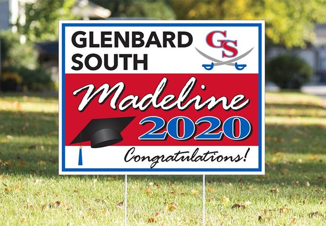 Graduation Signs | Plastic Signs & Yard Signs | Schools, Colleges & Universities