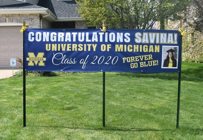 Graduation Signs | Vinyl Banners | Schools, Colleges & Universities