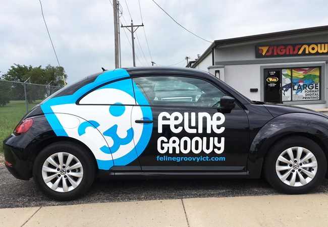 Partial Vehicle Wraps | Custom Vehicle Graphics and Lettering | Professional Services Signs | Wichita, Kansas