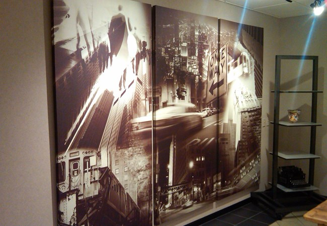 Reception Area Signs | Wall Graphics and Murals | Corporate Signs | Wichita, Kansas