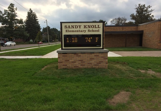 Monument Signs | Education, School & University Signs | Marquette, Michigan
