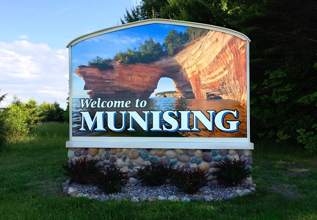 Monument Signs | Outdoor Wall Letters & Graphics | Government and Municipal Signs | Munising, MI