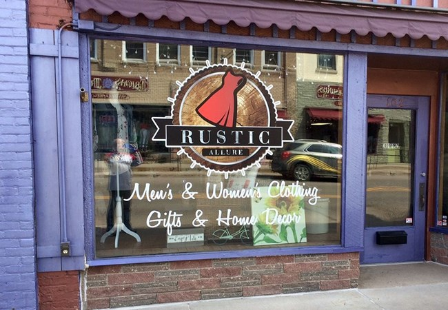 Window Graphics | Corporate Branding Signs | Retail